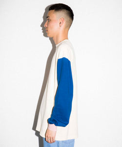 TRICOLOR L/S TEE KNITS XLARGE