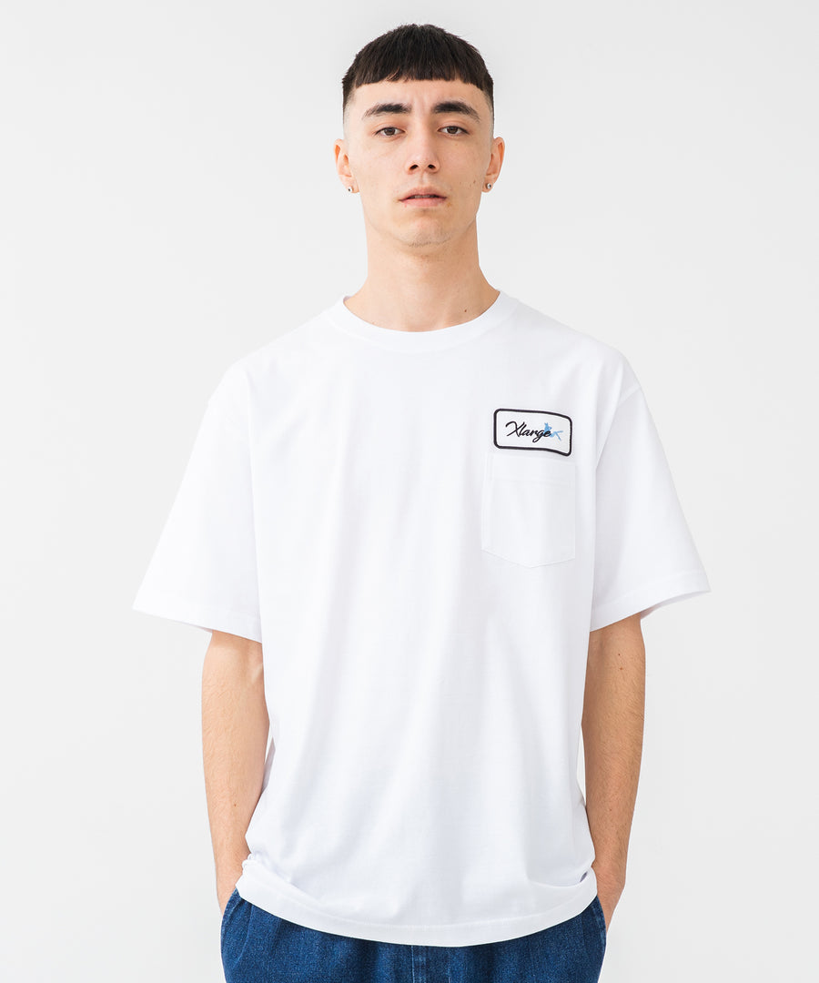 S/S PATCH POCKET TEE T-SHIRT XLARGE