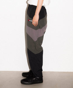 SLASH PANELED NYLON PANTS PANTS XLARGE