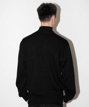 Load image into Gallery viewer, HALF ZIP EMBROIDERY SWEATER KNITS XLARGE