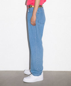 EMBROIDERY DENIM PANT PANTS XLARGE