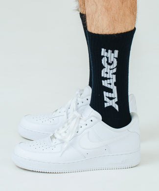 STANDARD LOGO MIDDLE SOCKS ACCESSORIES XLARGE