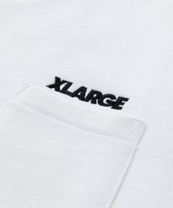 S/S SLANTED OG POCKET SWEAT FLEECE, CREWNECK, HOODIE XLARGE