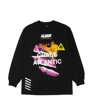 CHASE ATLANTIC CAR LS TEE T-SHIRT XLARGE