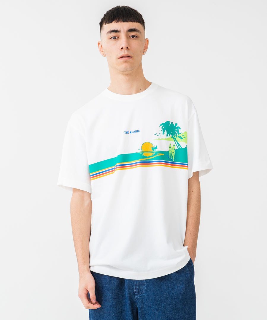 S/S TEE THE BEACH T-SHIRT XLARGE