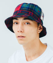 Load image into Gallery viewer, PATCHWORK  BUCKET HAT HEADWEAR XLARGE