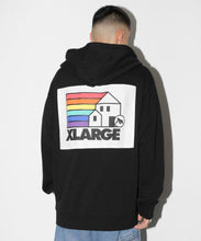Load image into Gallery viewer, GO HOME LOGO ZIP HOODED SWEAT FLEECE, CREWNECK, HOODIE XLARGE