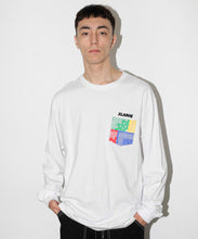 Load image into Gallery viewer, L/S PAISLEY POCKET TEE T-SHIRT XLARGE
