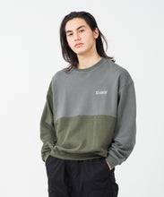 Load image into Gallery viewer, PANELED CREWNECK SWEAT