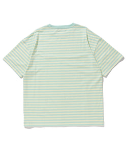 S/S EMBROIDERY KIETH BORDER TEE T-SHIRT XLARGE