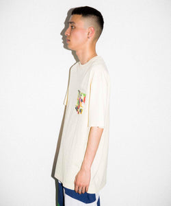 S/S INGREDIENTS STANDARD LOGO POCKET TEE T-SHIRT XLARGE