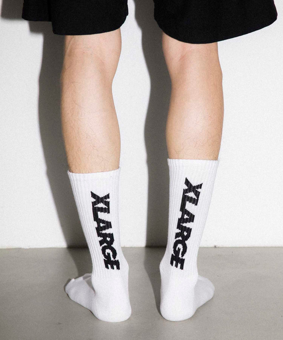 STANDARD LOGO 2 MIDDLE SOCKS ACCESSORIES XLARGE