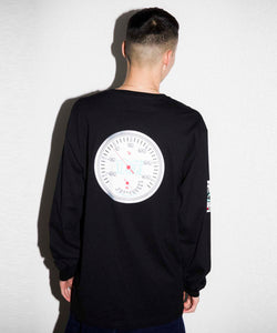 L/S THERMOMETER POCKET TEE