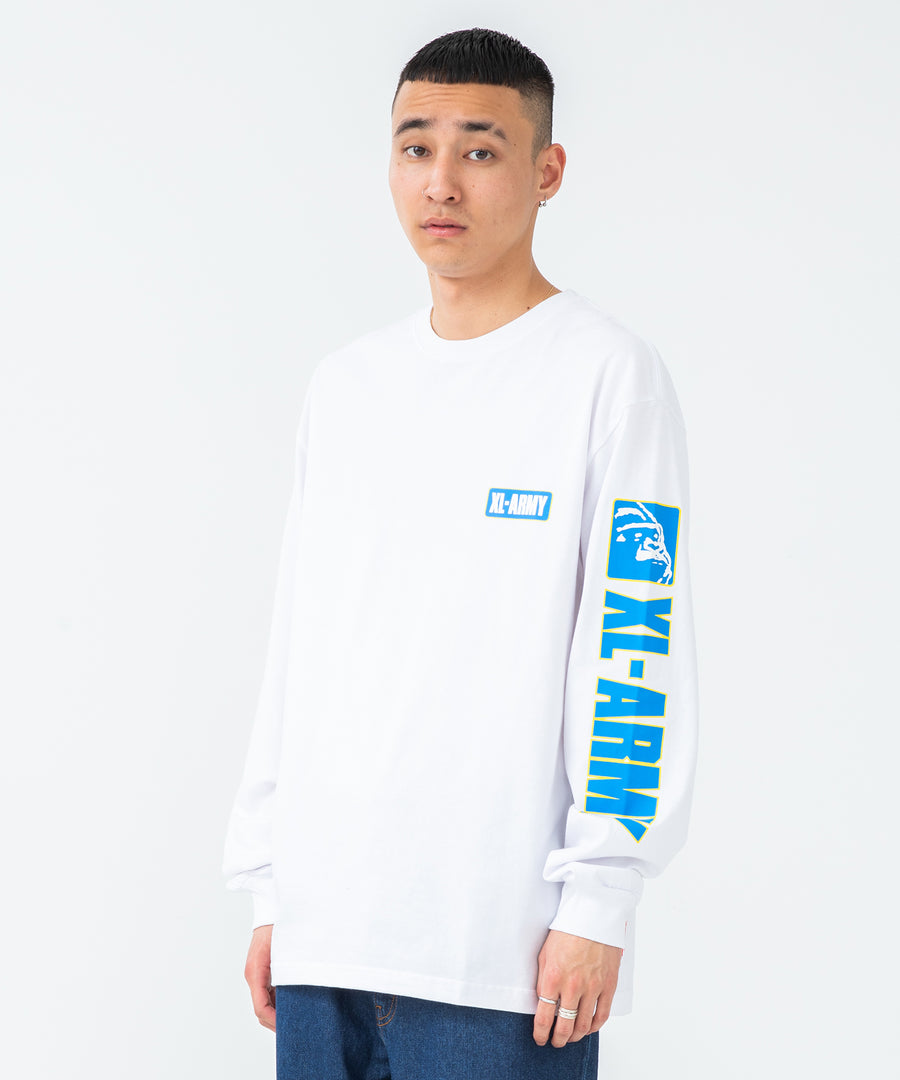 L/S TEE XL-ARMY T-SHIRT XLARGE