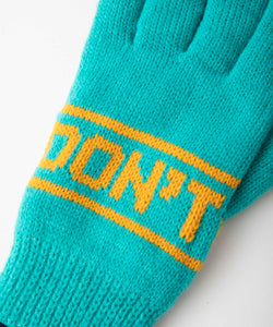DON'T FRONT LOGO GLOVES ACCESSORIES XLARGE