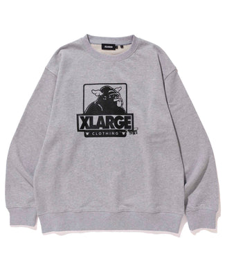 XLARGE x D*FACE OG CREW NECK SWEAT FLEECE, CREWNECK, HOODIE XLARGE