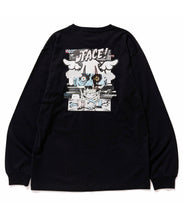 Load image into Gallery viewer, XLARGE x D*FACE L/S STRIPE SKULL RENDER POCKET TEE