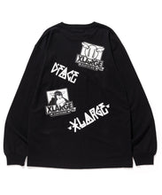 Load image into Gallery viewer, XLARGE x D*FACE L/S BIG RANDOM PRINT POCKET TEE