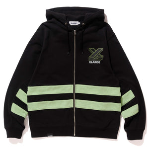 LINED FULLZIP HOODED SWEAT FLEECE, CREWNECK, HOODIE XLARGE