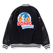 Load image into Gallery viewer, SONIC THE HEDGEHOG VARSITY JACKET OUTERWEAR XLARGE