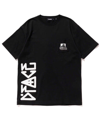 XLARGE x D*FACE S/S BIG PRINT POCKET TEE