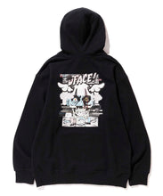 Load image into Gallery viewer, XLARGE x D*FACE STRIPE SKULL RENDER PULLOVER HOODED SWEAT FLEECE, CREWNECK, HOODIE XLARGE