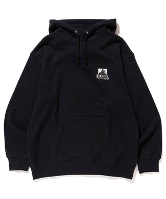 XLARGE x D*FACE STRIPE SKULL RENDER PULLOVER HOODED SWEAT