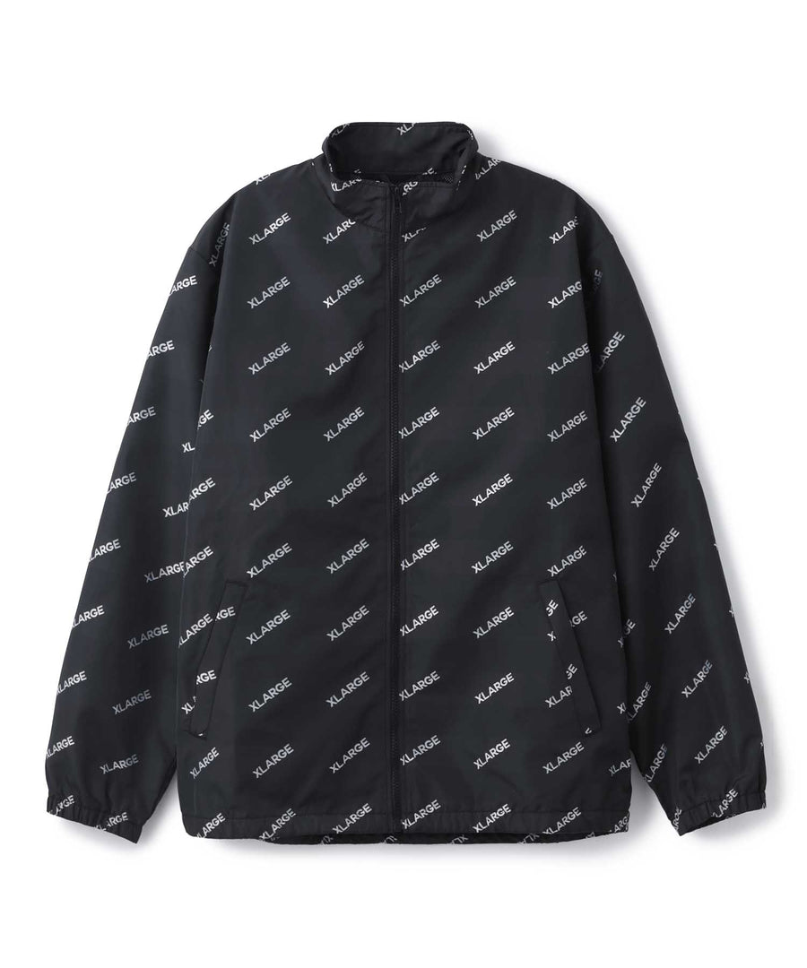 ALL OVER LOGO TRACK JACKET OUTERWEAR XLARGE