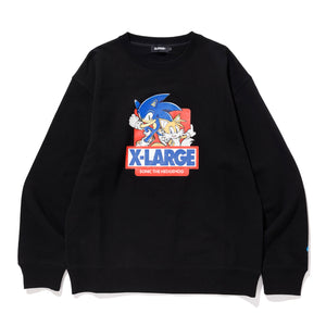 SONIC THE HEDGEHOG CREW NECK SWEAT