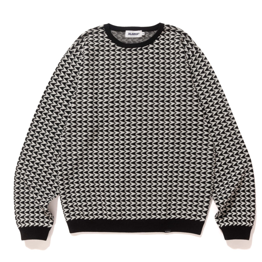 FUNDAMENTAL PATTERN KNIT KNITS XLARGE