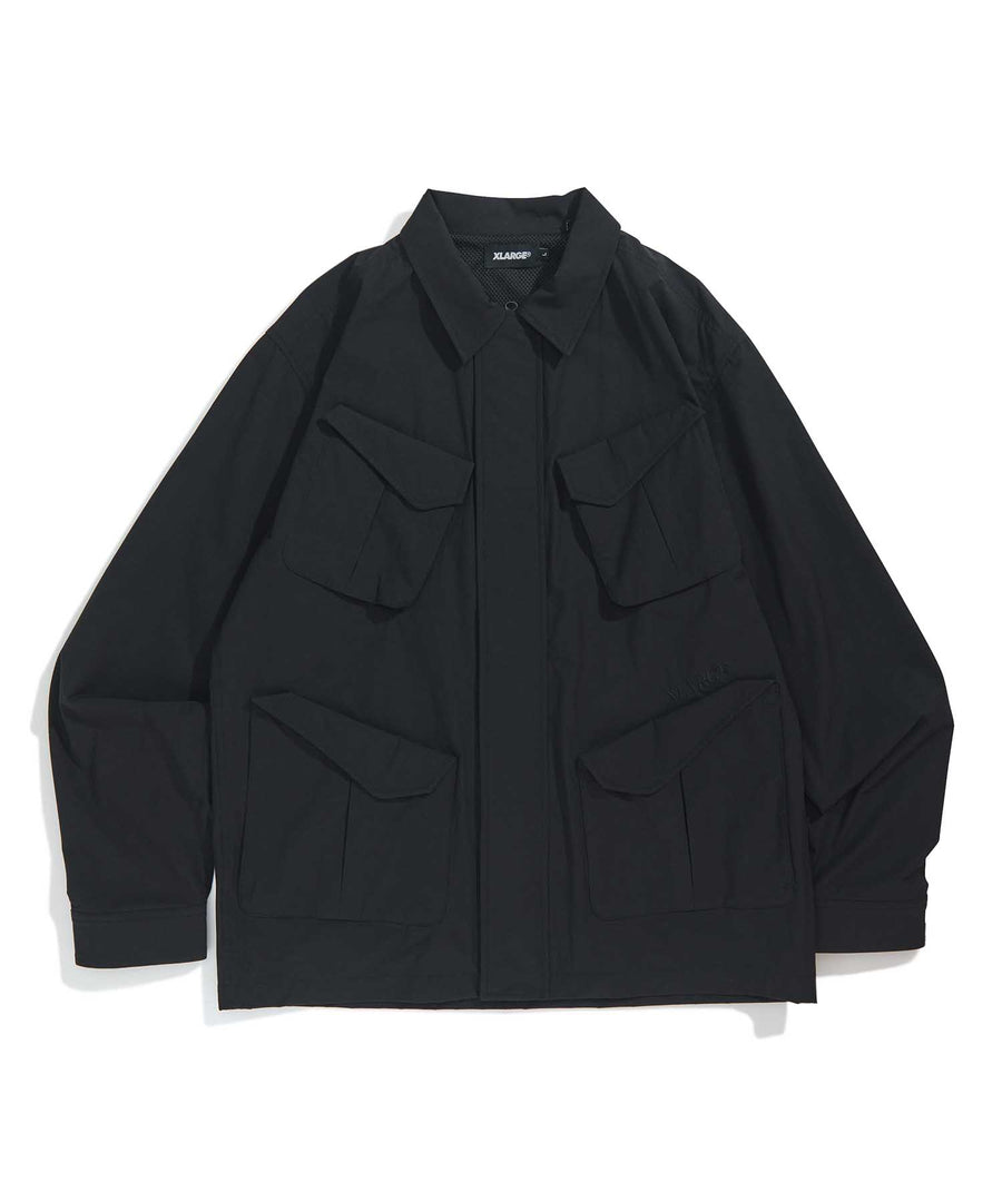 ZIPPED MIL JACKET