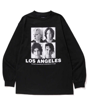 L/S TEE PLEASURES LOS ANGELES T-SHIRT XLARGE