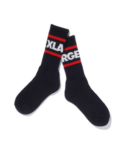 STRIPE LOGO SOCKS