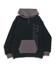 Load image into Gallery viewer, 2TONE PULLOVER HOODED SWEAT FLEECE, CREWNECK, HOODIE XLARGE