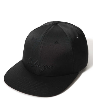 GALLIGRAPHY SATIN 6PANEL CAP HEADWEAR XLARGE