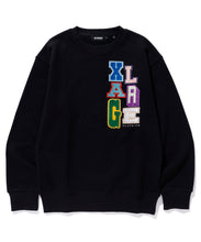 Load image into Gallery viewer, MULTICOLOR COLLEGE LOGO CREWNECK SWEAT FLEECE, CREWNECK, HOODIE XLARGE