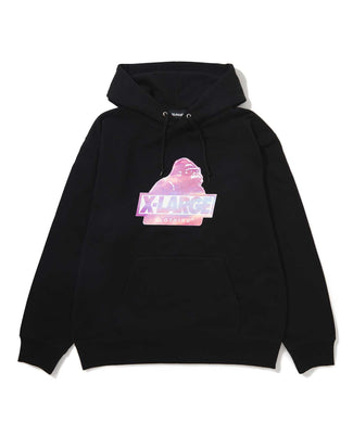 SUNSET SLANTED OG PULLOVER HOODED SWEAT FLEECE, CREWNECK, HOODIE XLARGE