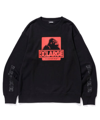XL x DC OG CREWNECK SWEAT FLEECE, CREWNECK, HOODIE XLARGE