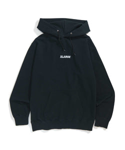 EMBROIDERY STANDARD LOGO 2 PULLOVER HOODED SWEAT 2 FLEECE, CREWNECK, HOODIE XLARGE