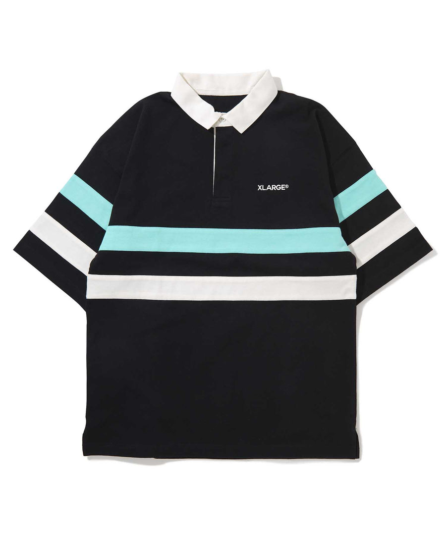 S/S LINED RUGBY SHIRT