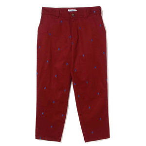 ALLOVER EMBROIDERY PANT