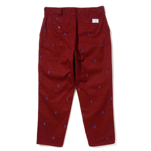ALLOVER EMBROIDERY PANTS PANTS XLARGE
