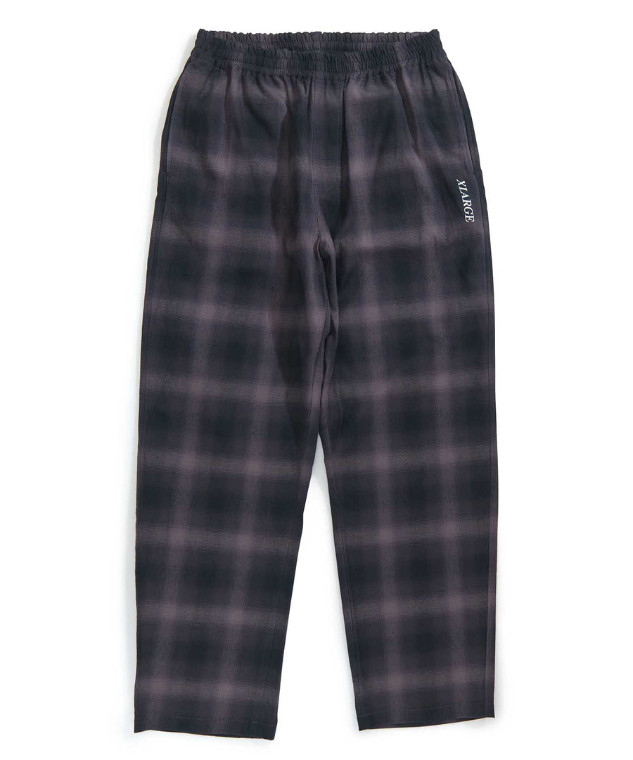HOMBRE PLAID EASY TYPE PANTS PANTS XLARGE