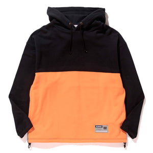COLORBLOCK HOODED SWEAT