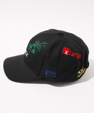 Load image into Gallery viewer, RANDOM EMBROIDERY LOGO 6PANEL CAP HEADWEAR XLARGE