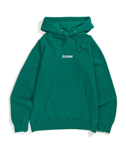 EMBROIDERY STANDARD LOGO PULLOVER HOODED SWEAT FLEECE, CREWNECK, HOODIE XLARGE