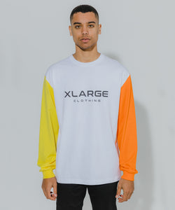 L/S TEE TRICOLOR T-SHIRT XLARGE