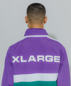 MULTI PANELED NYLON JACKET OUTERWEAR XLARGE