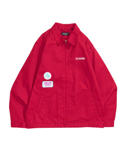 PATCHED WORK JACKET OUTERWEAR XLARGE