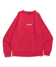 Load image into Gallery viewer, EMBROIDERY STANDARD LOGO CREWNECK SWEAT FLEECE, CREWNECK, HOODIE XLARGE